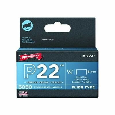 Arrow Fastener Company 224 Staples 14 Pack of 5000 For P22