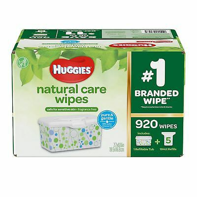 Huggies Natural Care Baby Wipes 920 ct- Fragrance - Alcohol Free