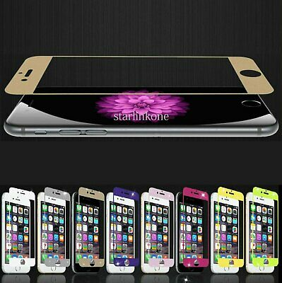 Tempered Glass Color Screen Protector for iPhone 6  6S  6 Plus  6S Plus