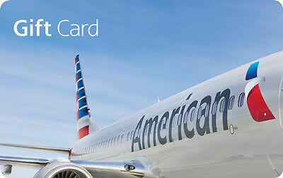 100 American Airlines Gift Card - Mail Delivery