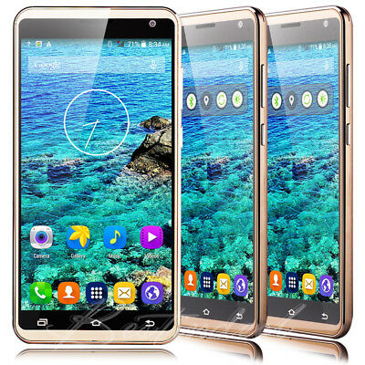 LUXURY 5-0 Touch Android Mobile Smart phone 2Sim Dual Core WiFi 3G GPS Unlocked