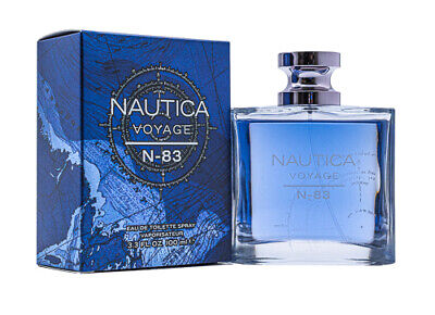 Nautica Voyage N-83 by Nautica 3-4 oz EDT Cologne for Men New In Box