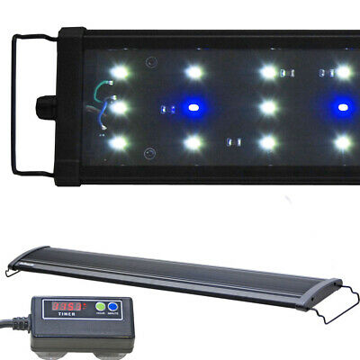 Beamswork EA Timer 6500K LED Aquarium Light Freshwater Plant 18 24 30 36 48