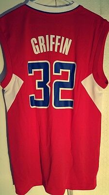 Adidas NBA Jersey Los Angeles Clippers Blake Griffin Red sz L