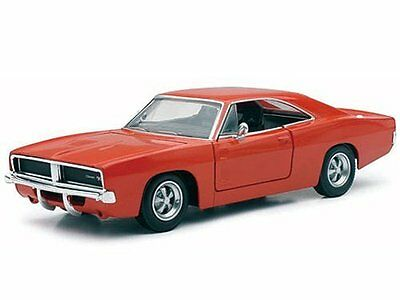 NewRay 1969 Dodge Charger RT 125 scale 8 diecast model car Orange