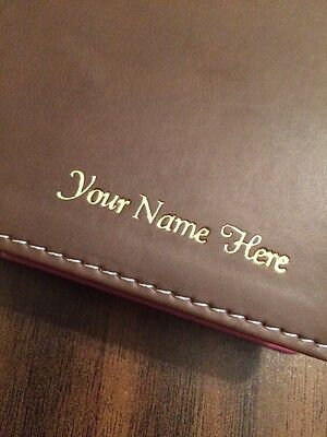 Add On Personalized Imprinting - Add a name to your bible