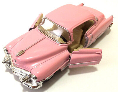 143 SCALE PINK 1953 CADILLAC SERIES 62 COUPE KINSMART DIECAST CAR MODEL 5