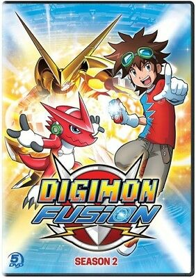Digimon Fusion Season 2 New DVD Boxed Set Widescreen