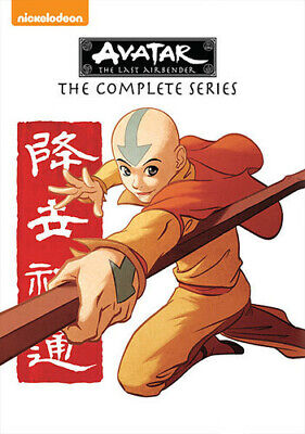 Avatar The Last Airbender The Complete Series New DVD Boxed Set Full Fram