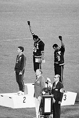 1968 OLYMPICS - BLACK POWER SALUTE POSTER - 24x36 - 51844