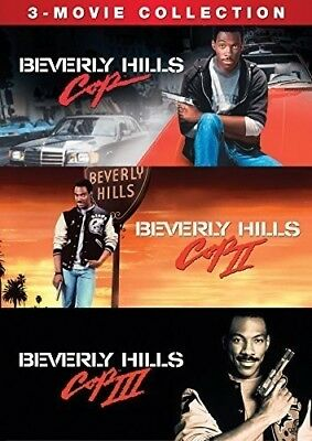 Beverly Hills Cop 3-Movie Collection New DVD 3 Pack Ac-3Dolby Digital Do