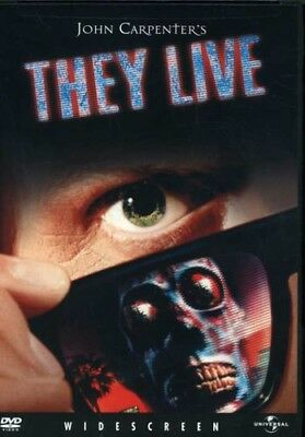 They Live New DVD Dolby Subtitled Widescreen