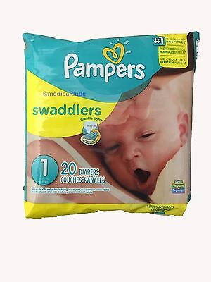 Pampers Swaddlers Diapers Size 1 240 Count