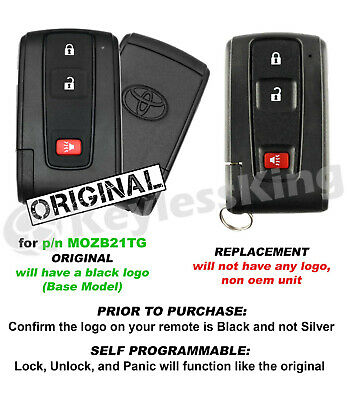 Replacement Remote Key Fob for 2004 2005 2006 2007 2008 2009 Toyota Prius
