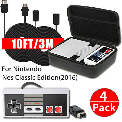 Nintendo NES Classic Mini Edition Carry Bag-Controller Gamepad - Extension Cable