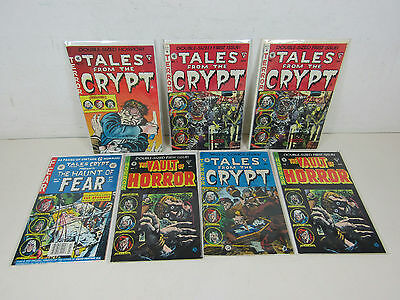 Tales From The Crypt Vault Of Horror 1-5 Lot of 6 EC Comics 1990's