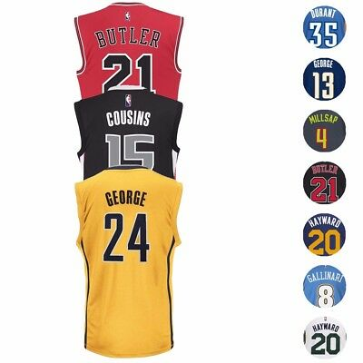 NBA Adidas Official Team Player Replica Jersey Collection - Mens