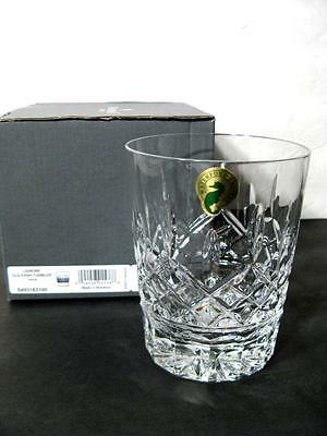 WATERFORD LISMORE 12oz DOUBLE OLD FASHIONED NEW NIB WITH MANUFACTURERS STICKERS