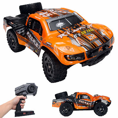 REMO 116 RC Truck 2-4Ghz 4WD High Speed Off-road Car Short Course Truck Orange