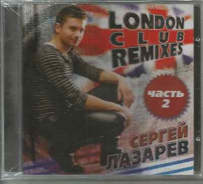 CD -Sergey Lazarev-London club remexis Part 2-Eurovision 2018 -new - sealed  -CD