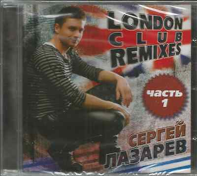 Sergey Lazarev-London club remexis Part 1-Eurovision 2018 -new - sealed CD