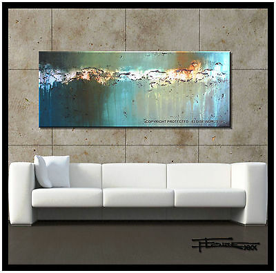 ABSTRACT CANVAS WALL ART PAINTING LARGE 60 inch OriginalReproduction  ELOISExxx