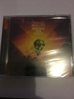 Behind the Light by Phillip Phillips CD 2014 Interscope USA New