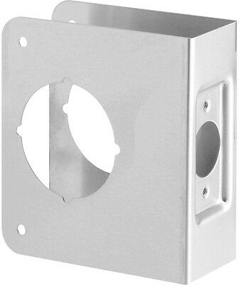 Door Reinforcement Plate Security 1-34 in- Thick Stainless Steel Recessed New