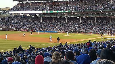 2-Tickets Chicago Cubs vs San Francisco Giants Monday 052217  Wrigley Field