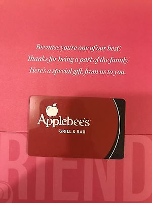 50 Applebees Gift Card FREE SHIPPING