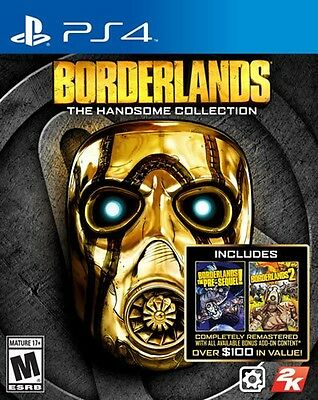 Borderlands The Handsome Collection PS4 Pro Console New Sealed Ships Fast