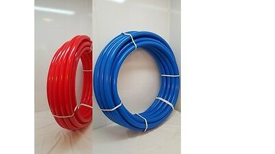 NEW Certified Non Barrier 12 200 coil TOTAL100 RED - 100 BLUE PEX