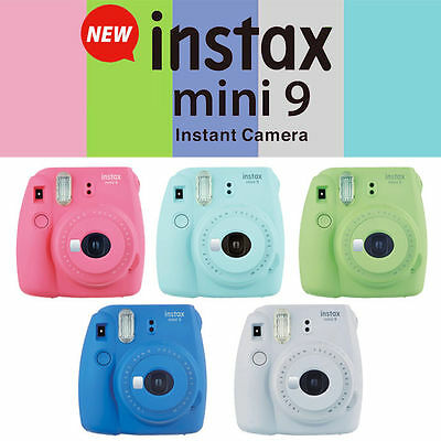 NEW Fujifilm Instax Mini 9 Instant Film Camera - CHOOSE COLOR