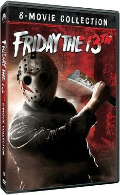 Friday the 13th 8-Movie Collection New DVD Gift Set Subtitled Widescreen
