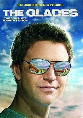 THE GLADES COMPLETE FOURTH SEASON 4 New Sealed 3 DVD Set