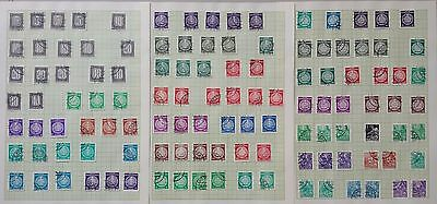 Lot of Germany Old Stamps UsedMH