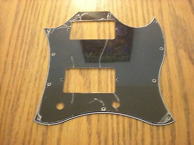 Black PICKGUARD for USA Gibson SG Standard Guitar 3 Ply 11 Hole - New