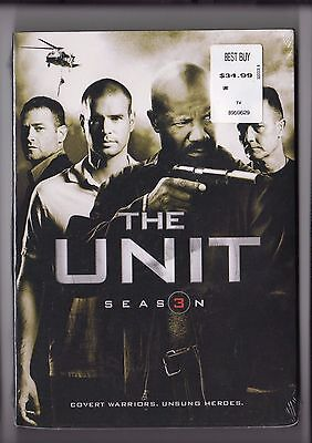 The Unit - Season 3 DVD 2009 3-Disc Set Brand New SEALED Free Shipping