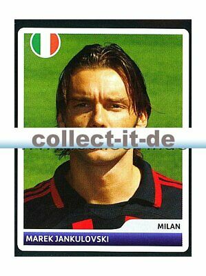 PANINI CHAMPIONS LEAGUE 2006 07 STICKER 114 MAREK JANUKULOVSKI