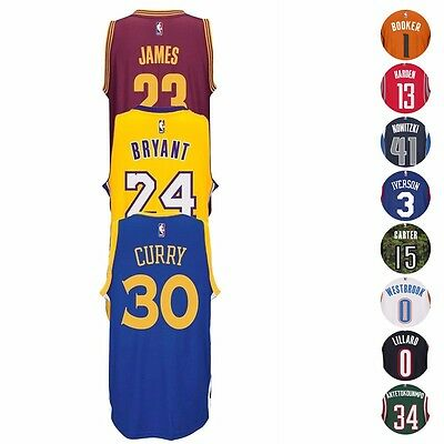 NBA Adidas Official Team Players Climacool Swingman Jersey Collection - Mens