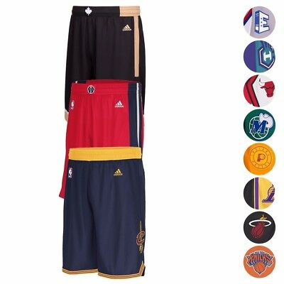 NBA Various Teams Swingman Basketball Shorts Collection by ADIDAS - Mens