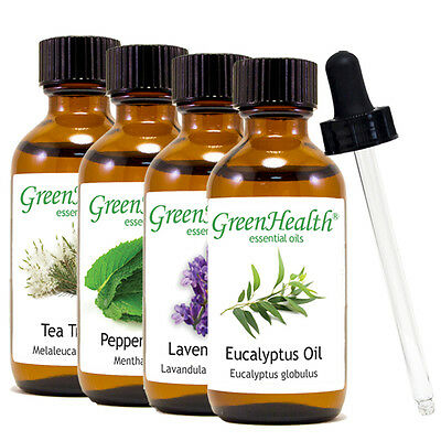 2 oz Essential Oil with Glass Dropper Free Shipping 50- Oils to Choose from