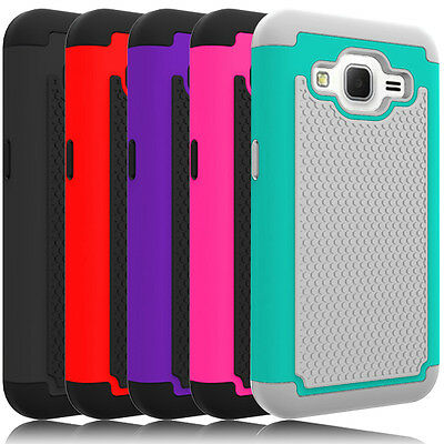 For Samsung Galaxy Core Prime G360 Case Shockproof Armor Hard PC-Silicone Cover