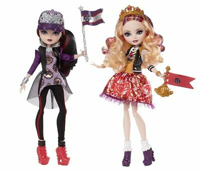 Ever After High School Spirit Apple White and Raven Queen Doll 2-Pack Toy NEW
