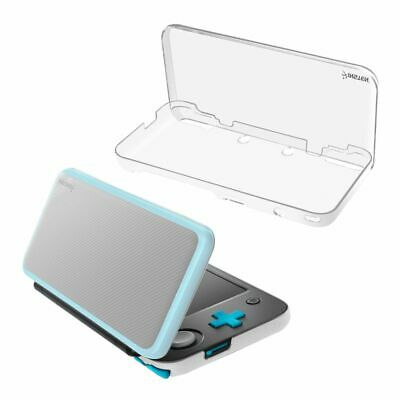 For New Nintendo 2DS XL Clear Crystal Protective Hard Shell Skin Case Cover