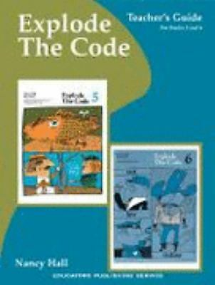 Explode the Code Book Teachers Guide for Books 5 and 6