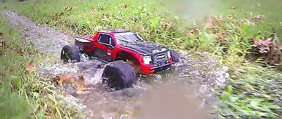 Redcat Racing Blackout XTE 110 Electric Remote Control RC 4X4 Red Truck Buggy
