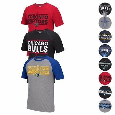 NBA Adidas Various Ultimate Tee Climalite Performance Short Sleeve T-Shirt Mens