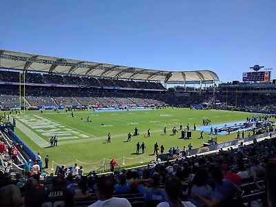 Chargers vs- Redskins – 2 Tickets for Sunday121017