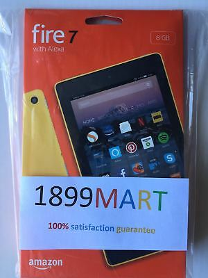 All-New Fire 7 Tablet with Alexa 7 Display 8 GB Yellow - with Special Offers